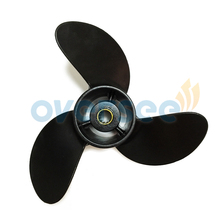OVERSEE 3R1W64516-0 7.8 x 8 Outboard Propeller 7.8 x 8 For Tohatsu -Nissan 4HP 5HP 6HP Outboard Motors
