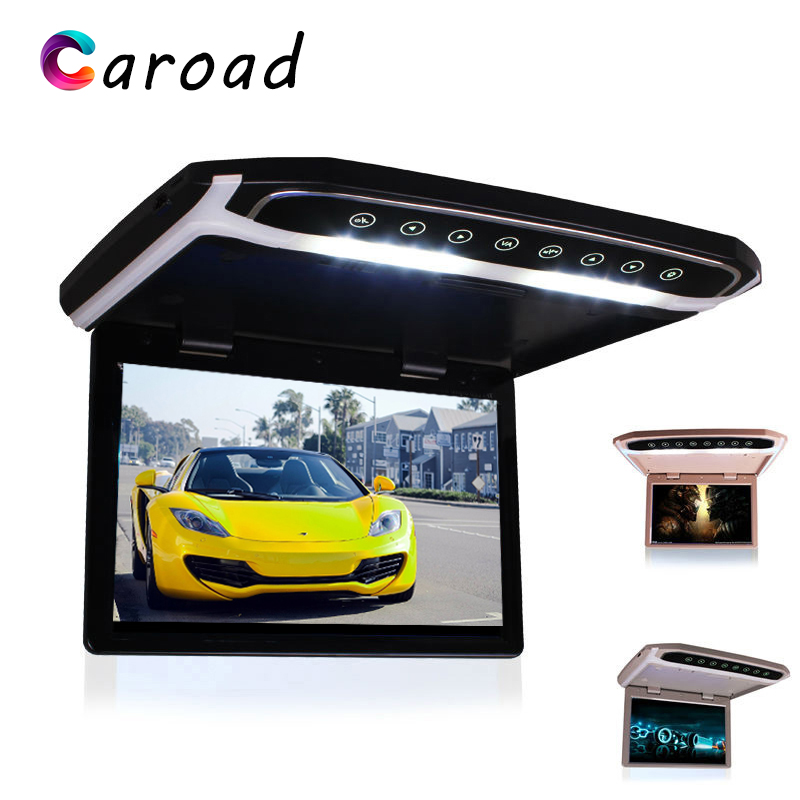 MP5 Player 17.3 Inch HD 1080P Video Digital TFT Screen Wide Screen Ultra Thin With HDMI IR FM USB SD Touch Button Car DisplayCar Monitors   -