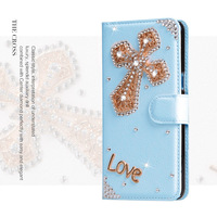 Women Bling Diamond Cover Girl Rhinestone Leather Phone Wallet Case For Samsung S6 S7 S8 edge Plus J/A3 A5 A7 A8 2016 2017 Prime