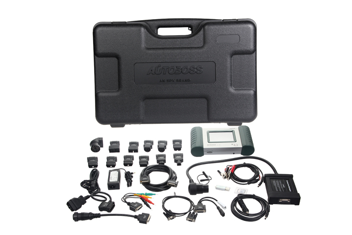 2013 original Diagnostic tool SPX AUTOBOSS V30 Scanner V-30 Vehicle Diagnosis Computer 100 original update software online