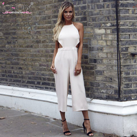 Women Bodycon Jumpsuit Short For Women Jumpsuits Sexy Club Ladies Rompers Bandage Elastic Waistband Combinaison Short