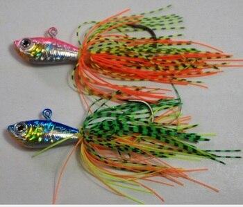 12 cm 50 g Metal fish with beard for fishing Sea bass total 12 pcs