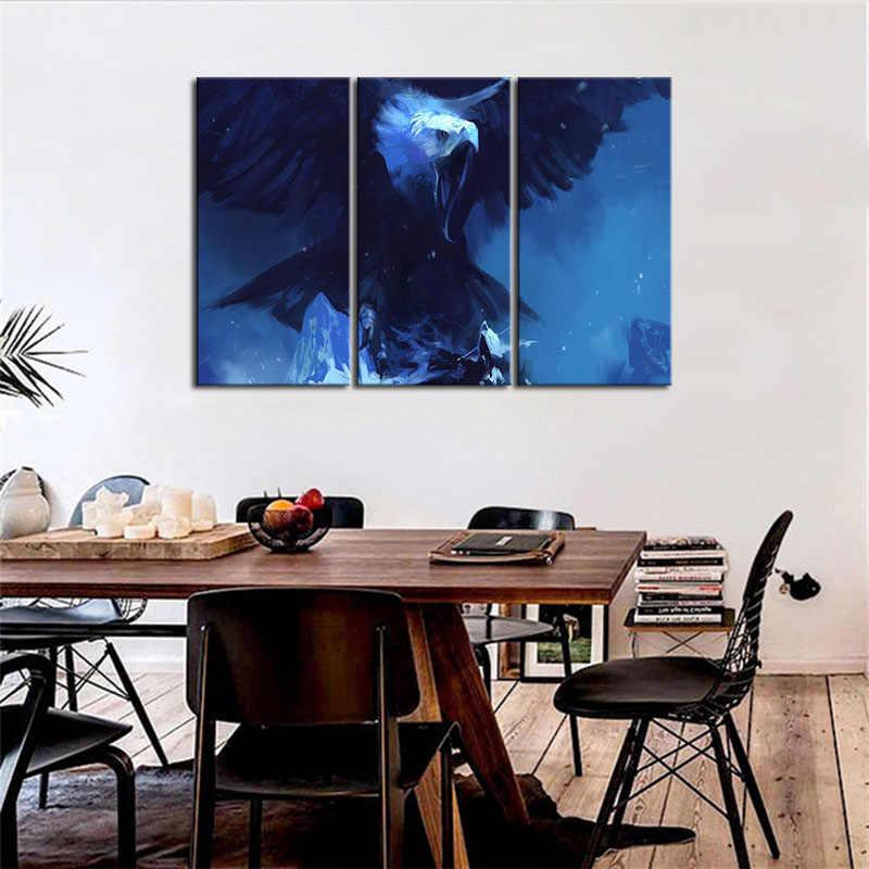 3 Панели хит продаж плакаты Современная Настенная живопись Бандана с принтом