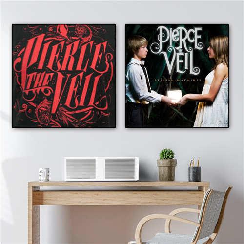 Pierce The Veil 2 Custom Silk Poster Wall Decor