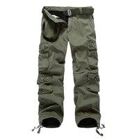 2018 Autumn Mens Pencil Harem Pants Loose Comfortable Army Surplus Pants Men Military Camouflage Cargo Pants