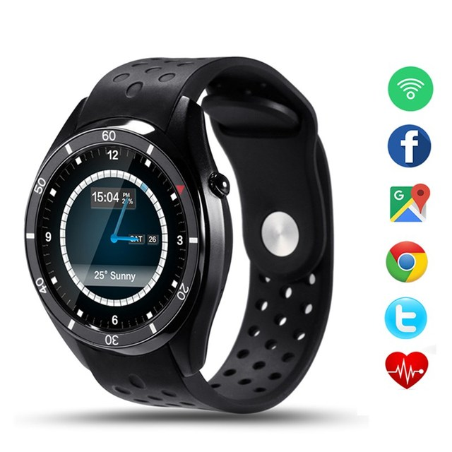 НОВЫЕ Bluetooth Smart watch I3 Android 5.1 SmartWatch для Android Телефон синхронизации SMS Сердечного Ритма Монитор WIFI GPS Наручные Часы