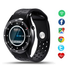NEW Bluetooth Smart watch I3 Android 5.1 SmartWatch for Android Phone sync SMS Heart Rate Monitor WIFI GPS WristWatch
