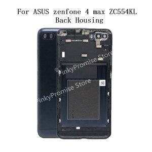 Image 1 - Batterij Deur Back Case Behuizing Deur Battery Back Cover Voor Asus Zenfone 4 Max ZC554KL terug behuizing gratis verzending + gereedschap
