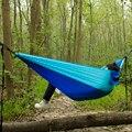 Acehmks Сверхлегкий крепкий дорожный подвесной гамак Hamac для кемпинга на открытом воздухе двойной человек мебель для отдыха путешествия параш...