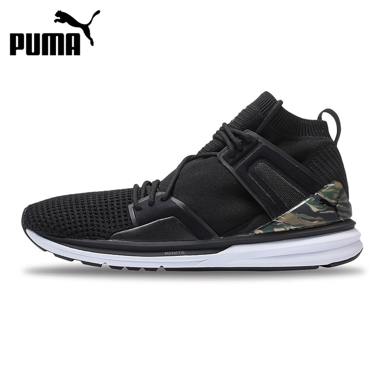 Original New Arrival 2017 PUMA B.O.G LimitlessHi WaffleKnit Unisex Skateboarding Shoes Sneakers