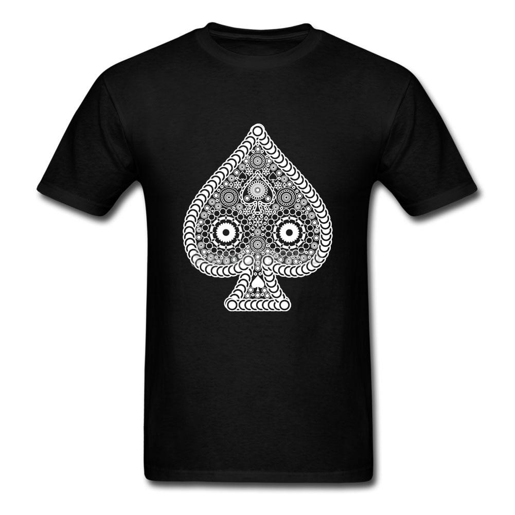 Shirt design card - Stylish Spade Card Shirt For Men Latest Design Short Sleeve Crewneck Cotton Big Size Men S Love
