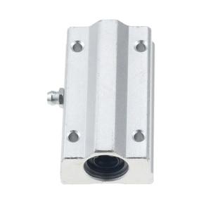 Image 2 - 2 cái/lốc SC16LUU SCS16LUU 16mm loại Tuyến Tính Bi Khối CNC Router với LM16LUU Bush Gối Chặn Tuyến Tính trục CNC 3D