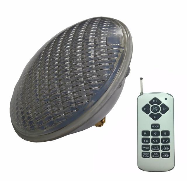 RGBW שחייה בריכת מנורת 24W 36W 48W 60W 72W סינכרוני RGB PAR 56 LED 12V ג קוזי הנורה חם לבן קר לבן