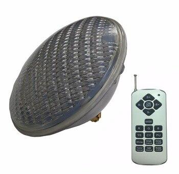 RGBW-Lámpara de piscina síncrona, 24W, 36W, 48W, 60W, 72W, RGB PAR 56 LED, bombilla de JACUZZI de 12V, blanco cálido y frío