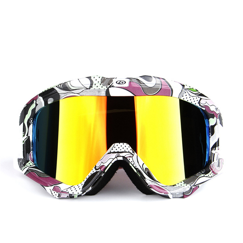Prix pour Snowboard Lunettes Lunettes de Ski Snowboard Ski Anti Brouillard Coupe-Vent UV Protection Pour Le Sport Skieur Motoneige Équitation Lunettes