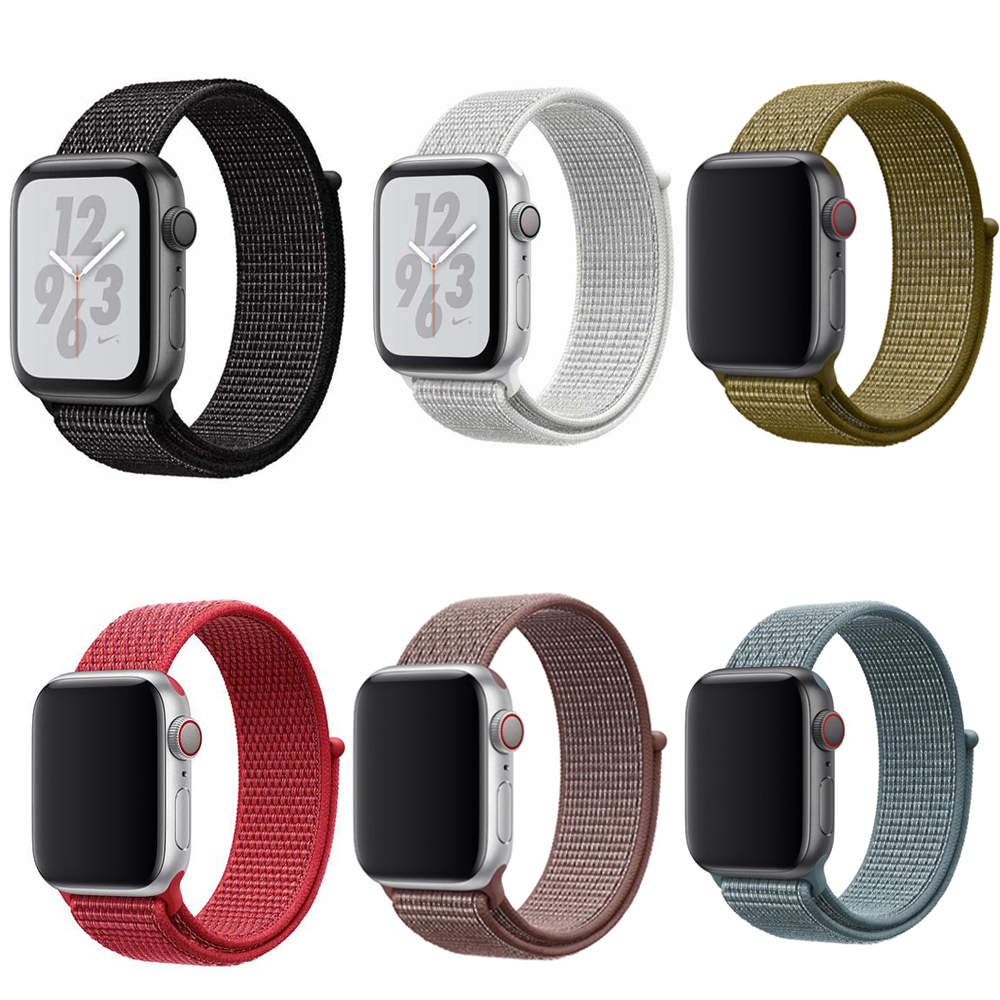 Aliexpress.com : Buy New Red Woven Nylon Sport Loop band
