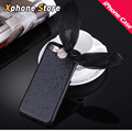 Для APPLE iPhone 6 6 S 7 6 Plus Case 3D Цветок Бантом блеск Порошок Мягкой ТПУ Мобильный Телефон Обложка Case 4.7 дюймов-5.5 дюймов