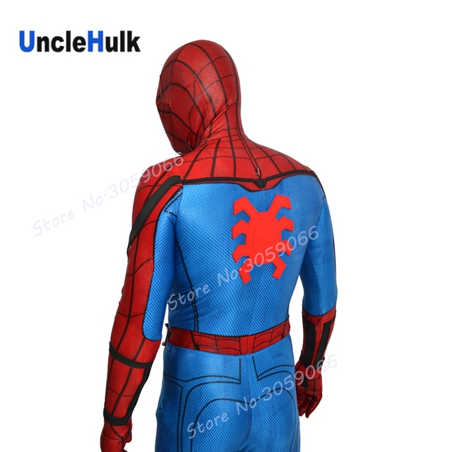 high quality spiderman homecoming rubber spider logo on back tom rh aliexpress com spiderman costume hoodie jacket Spider-Man Logos Color Page Print
