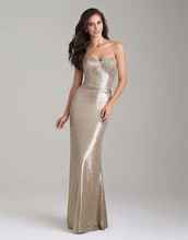 Sparkly Gold Sequin Bridesmaid Dresses Long Mermaid Sexy Sweetheart Backless Wedding Party Gowns Cheap robe demoiselle