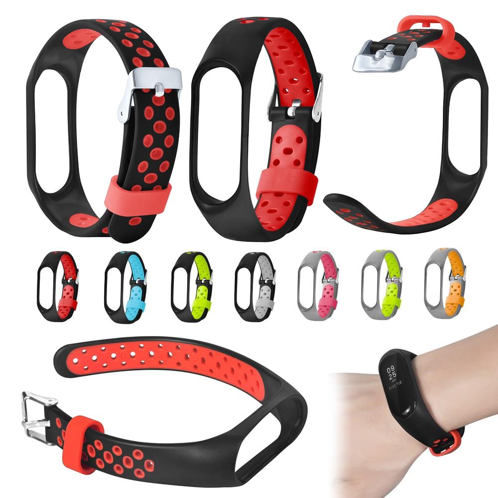 For Mi Band 3 Strap Wrist Strap For Xiaomi Mi Band 3 Silicone For Miband 3  Mi 3 Accessories Colorful Pulsera Correa Replacement