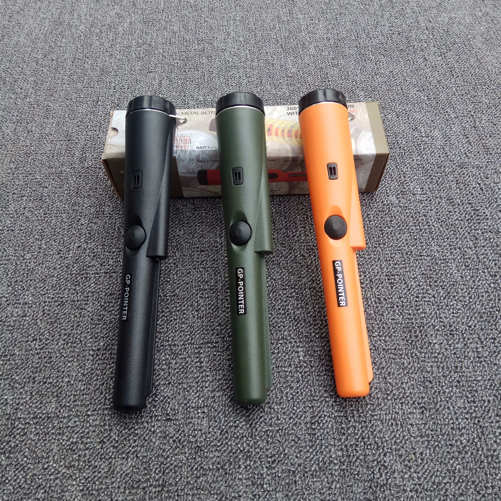 GP-POINTER Mini Handheld Metal Detector with LED flashlight Orange/Army/Black Color for your Select