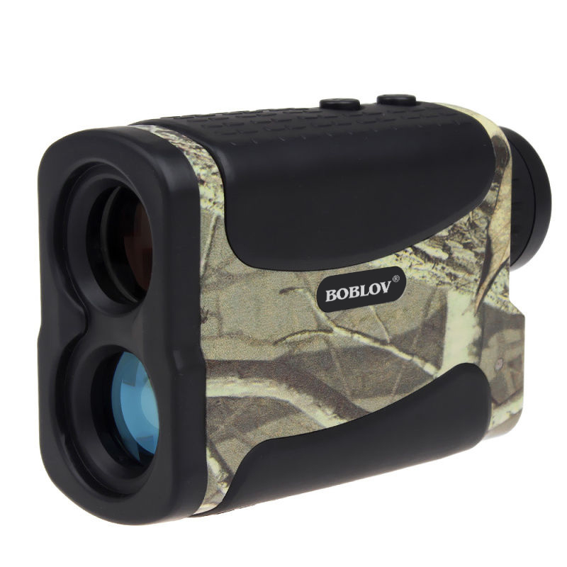 BOBLOV 600M Multifunction 6x Laser Range Finder Monocular Telescope For Hunting Golf Distance Camo Rangefinder Free