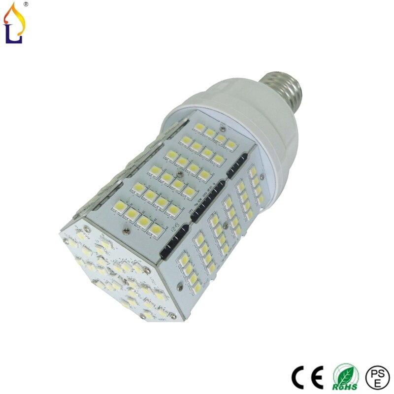 ФОТО 20pcs/lot 30W smd5050 168pcs E27 E40 E39 led corn light BULB lamp Replace Compact Fluorescent lamp No Flicker Chandelier Light
