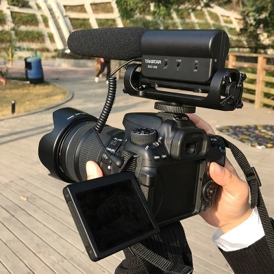 Takstar SGC 598 Photography Interview Shot gun MIC Microphone for Nikon Canon DSLR Camera DV Camcorder for Vloggers/Videomaker