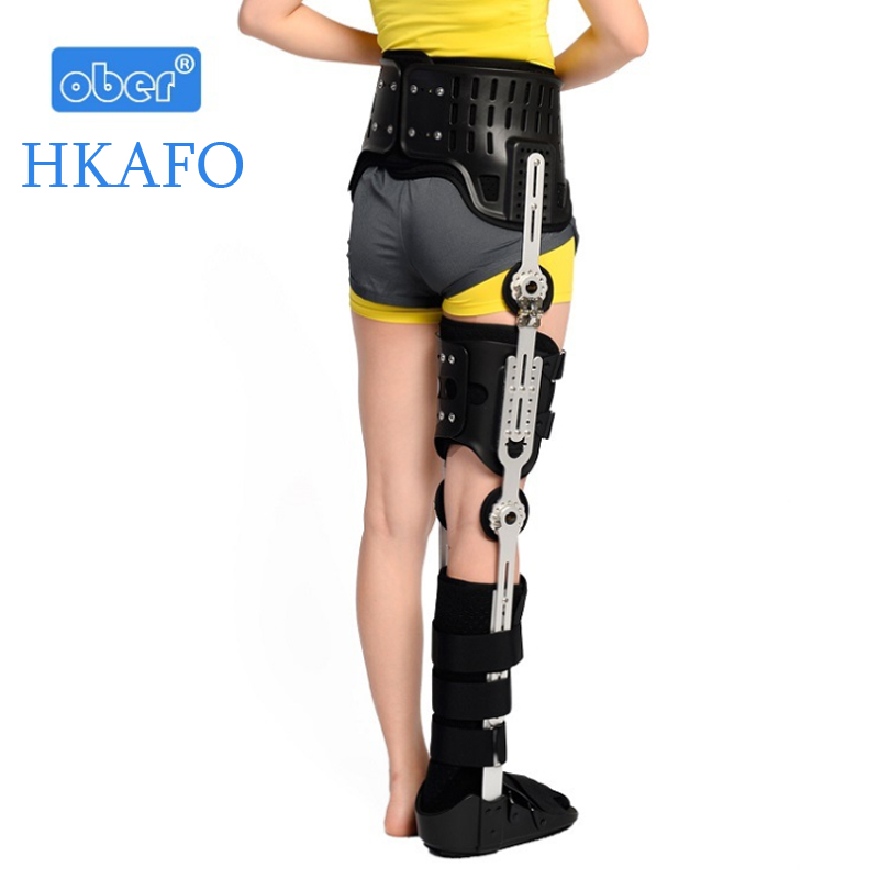 HKAFO Ober hip knee ankle foot orthosis medical leg fracture, lower limb paralysis, hip walking fixed With walking boots brace hkafo for both sides hip knee ankle foot orthosis for hip fracture femoral femur fracture hip instability fixation of lower limb