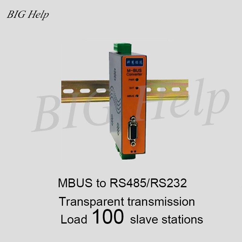 Convertisseur MBUS/M-BUS vers RS232/485 (charge 100) KH-CM-M100