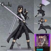 15cm New Hot Sale Anime Figure Toy Figma 248 Sword Art Online ALO Kirito Kirigaya Kazuto