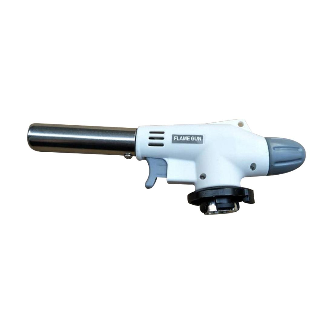 Multi-function Gas Torch Flame Gun Blowtorch Cooking Soldering Butane AutoIgnition Gas-Burner Lighter Heating Welding Gas Burner