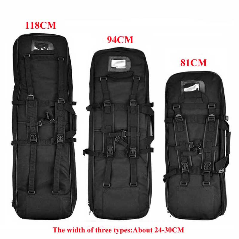 81cm 94cm 118cm Tactical Hunting Backpack Airsoft Rifle Gun Square Carry Bag With Shoulder Strap Sport Protection Case Backpack