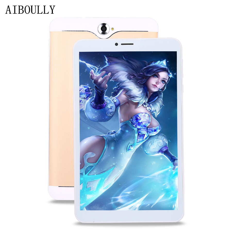 AIBOULLY Original Phone Call Tablet pc 7 inch Quad Core 1GB RAM 8GB Dual SIM 3G Phone Tablets Android 6 4 Cores WiFi Tab 9.7'' gpd q9 7 inch android 4 4 gamepad rk3288 quad core 1 8ghz