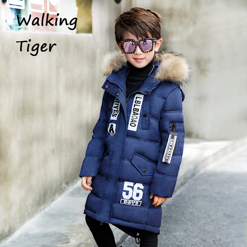 Children down coat winter girls and boy winter clothing Thicken warm Down jacket 2017 new kids clothes parkas children winter coats jacket baby boys warm outerwear thickening outdoors kids snow proof coat parkas cotton padded clothes