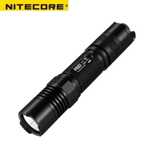 NITECORE P10GT CREE XP-L HI V3 LED 900 Lumens Light Flashlight and Portable Police LED Flashlight for Self Defense