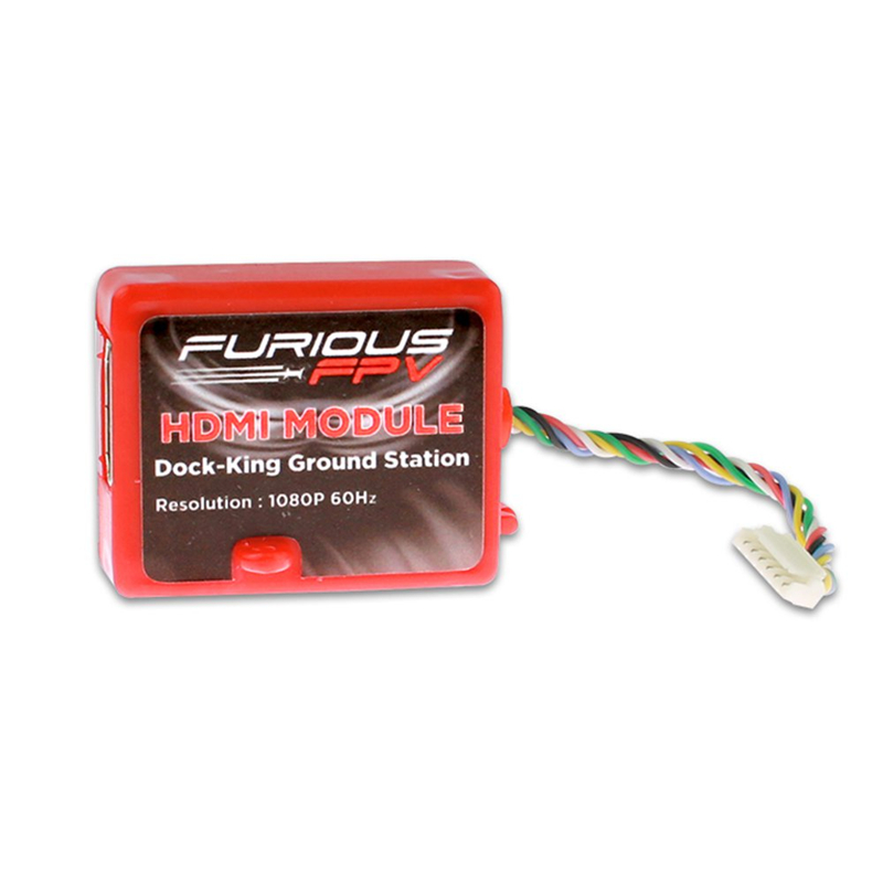 Furious FPV HDMI Module Dock-King Ground Station Support HD 1080P 60Hz Output Resolution For RC Multicopter Drone Spare Parts