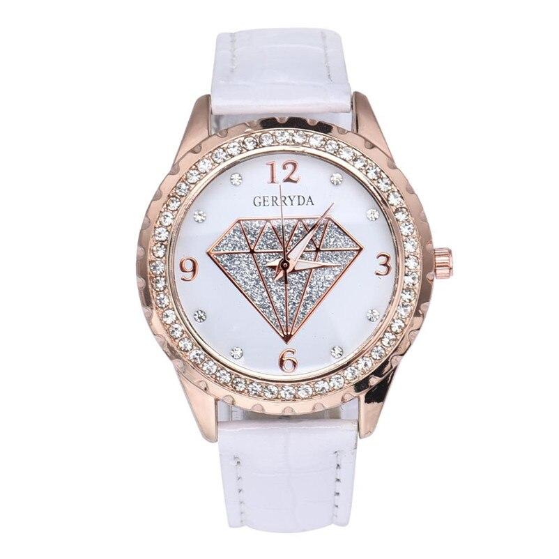 2018 Hot Sell Fashion Ladies Quartz Watch Brand Dress Women's Leather Strap Women Watches Fashion Waterproof Wrist Watches A2