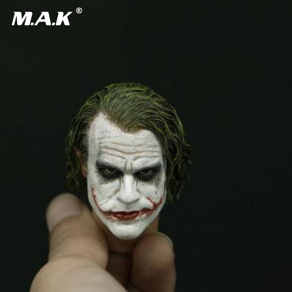 1:6 Male Head Sculpt The Joker Head Model PVC Head F 12'' Man Action Figure