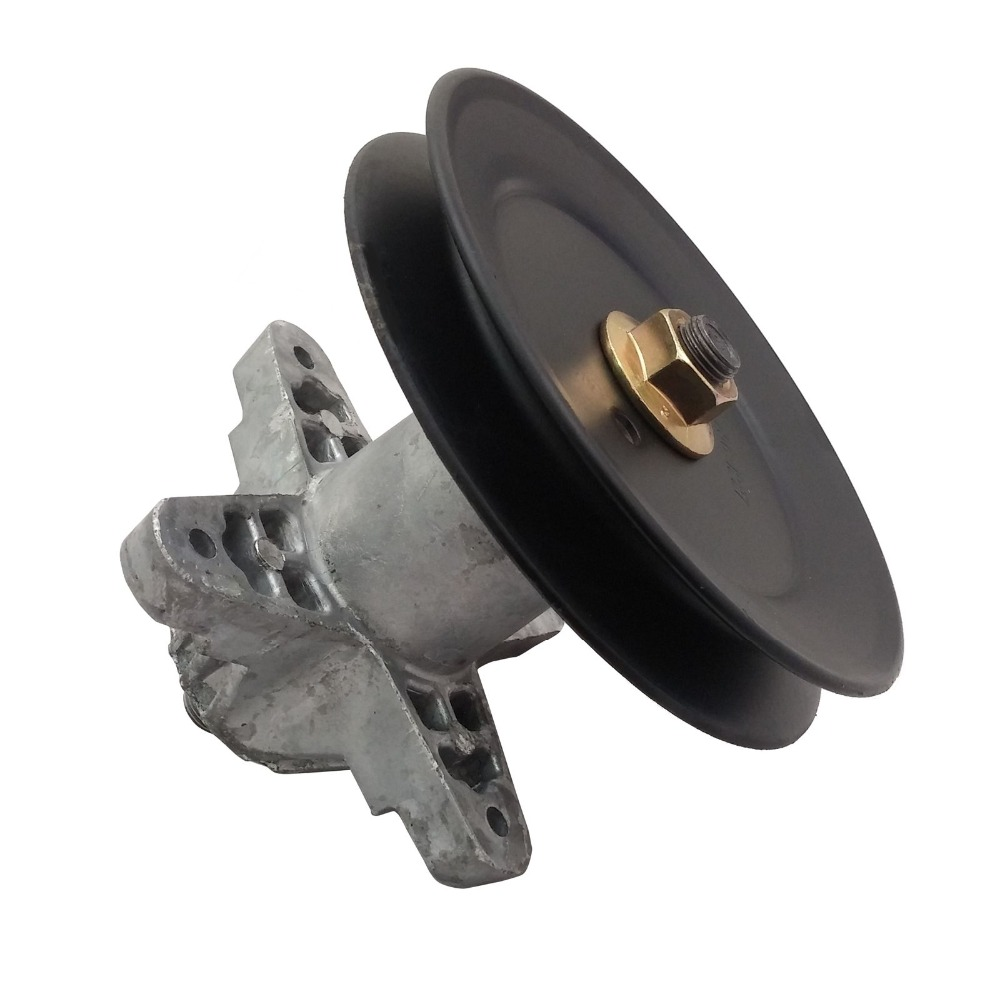 Mower Deck Spindle MTD Cub Cadet Troy Bilt Spindle Pulley Assembly 618-0624 918-0624AMower Deck Spindle MTD Cub Cadet Troy Bilt Spindle Pulley Assembly 618-0624 918-0624A