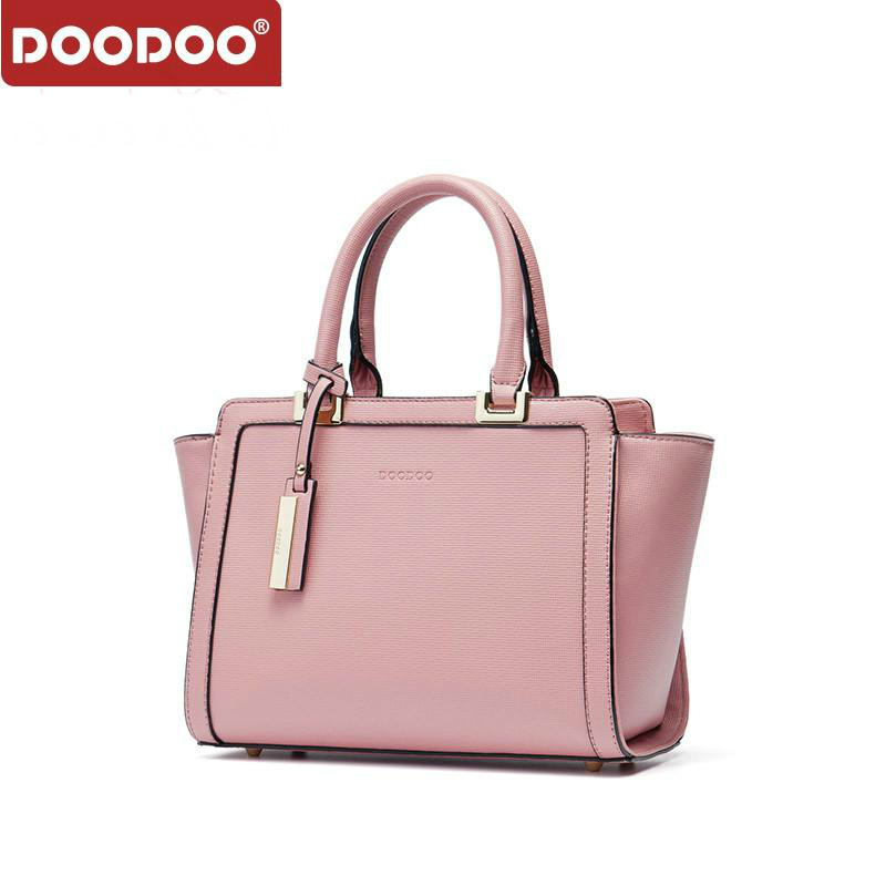 DOODOO Fashion Brand Women Handbag Tote Bag Female Shoulder Crossbody Bags Ladies Pu Leather Top-handle Bag Tassel Messenger Bag