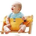 8 Colores Cinturones de Seguridad Infantil Cinturón de Seguridad Silla de Bebé Portátil Plegable Producto Kids Almuerzo Cena Alimentación Alimentación Arnés Silla de Niño