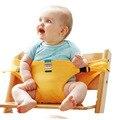 8 Cores Cintos de Segurança Infantil Cinto de Segurança Cadeira de Bebé Portátil Dobrável Almoço Jantar Food Alimentação Produto Crianças Arnês Cadeira Do Miúdo