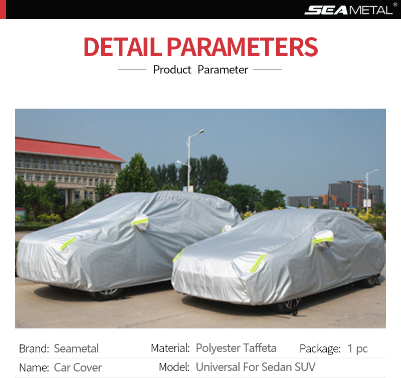 waterproof reflective car cover