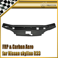 Car-styling FRP Fiber Glass Cooling Panel (Spec 1 only) For Nissan Skyline R33 GTS Garage Defend Style In Stock