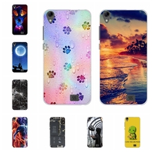 For Doogee Homtom HT16 Cover Slim Soft Silicone Case Flowers Patterned Shell Bag
