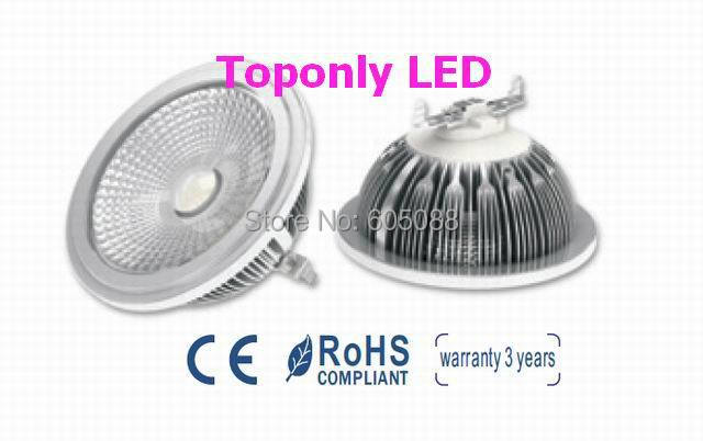 2016 High Quality ar111 <font><b>led</b></font> 9w <font><b>g53</b></font> spot lamp,AC100-240v,use SHARP COB with credible performance,replace 50w halogen ar111 light