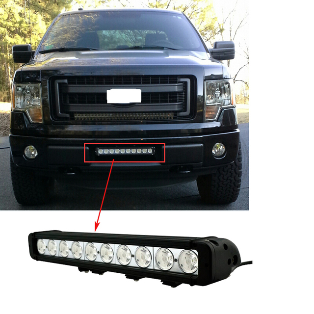 1pcs 17inch high quality led offroad driving light 100w led light 1pcs 17inch high quality led offroad driving light 100w led light bars for trucks suv tractors aloadofball Image collections