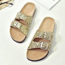 цены на New Women&Kids Glitter Sandals Gladiator Thong Flops Flip Flat Strappy Shoes в интернет-магазинах