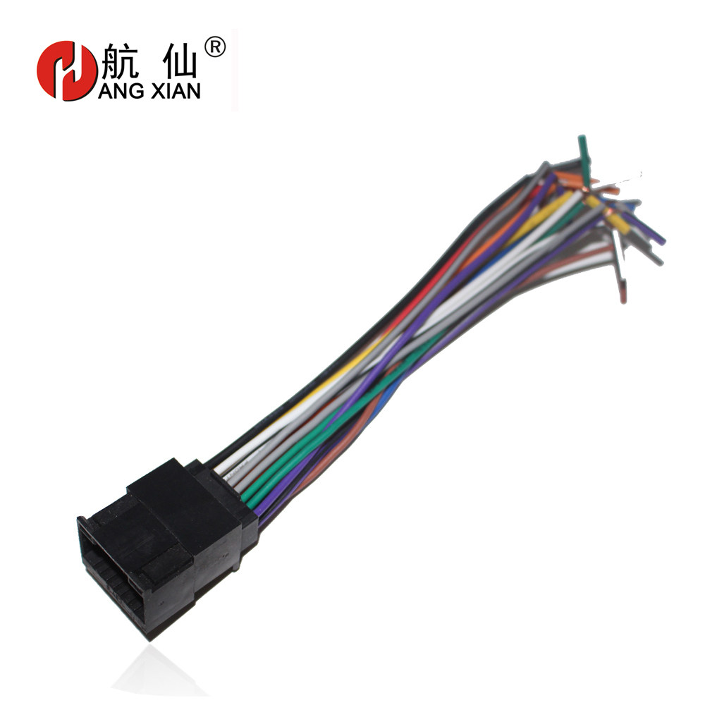 Online Shop Seicane High Quality Wiring Harness Adapter Audio Cable Gm Radio Car Stereo Female Iso Plug Power Special For Chevrolet Lova Chery
